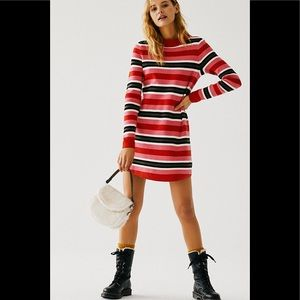🎁NWT Free People Falling For You Sweater Dress